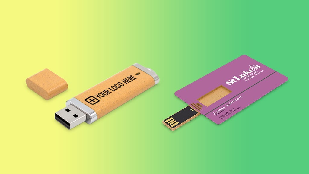 Going Green: Eco-Friendly USB Drives