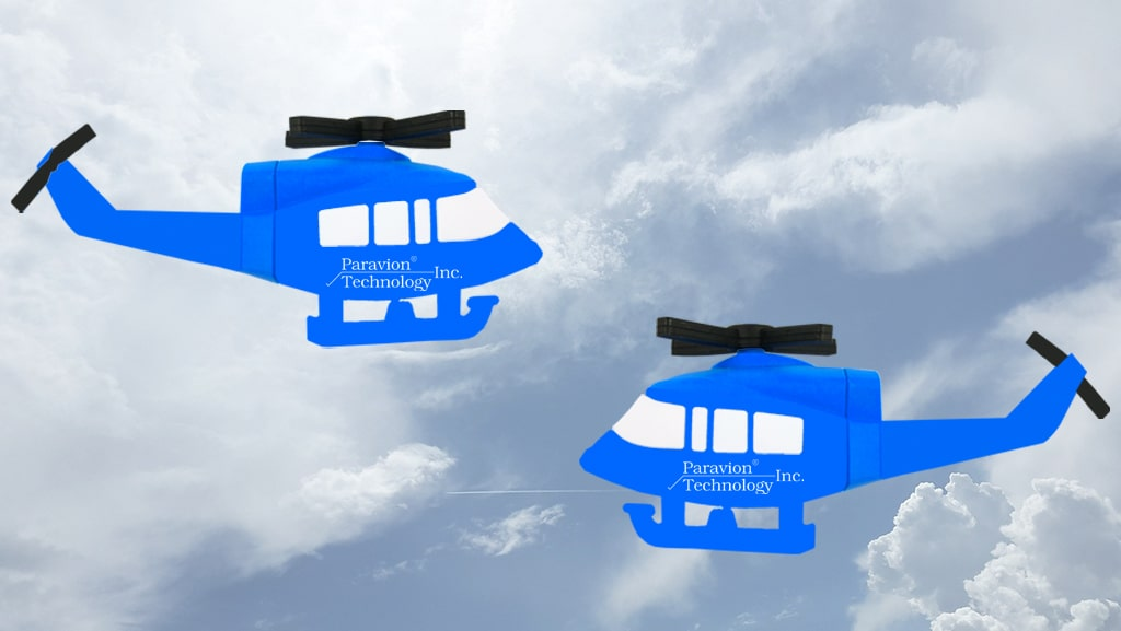Helicopter USB Flash Drive for Paravion Technology Inc