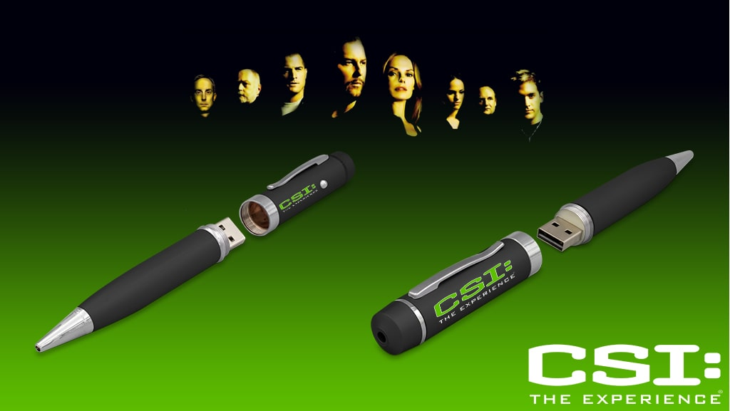 USB Pen for CSI: The Experience