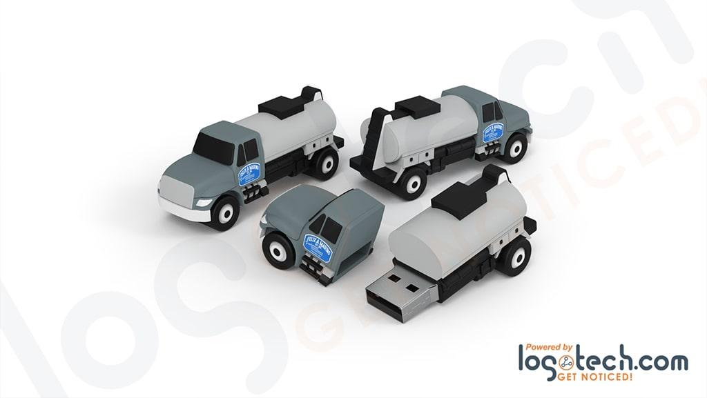 Asphalt Distributor Truck USB Flash Drive