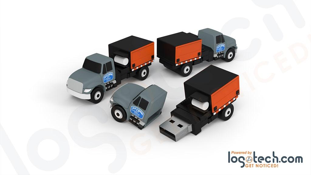 Asphalt Hotbox Truck USB Flash Drive