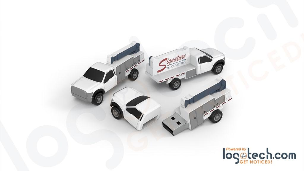 Crane Truck USB Flash Drive