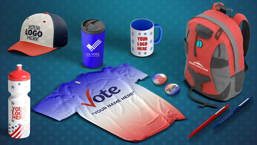Why You Need Political Merchandise and Custom Campaign Swag