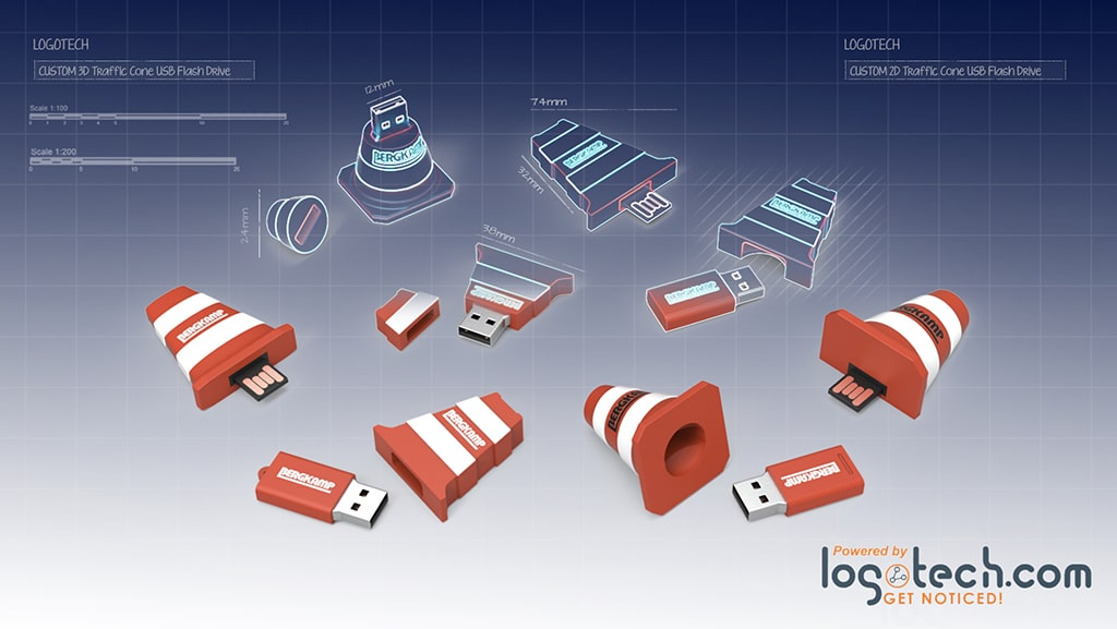 Everything You Want to Know About Custom Shaped USB Drives