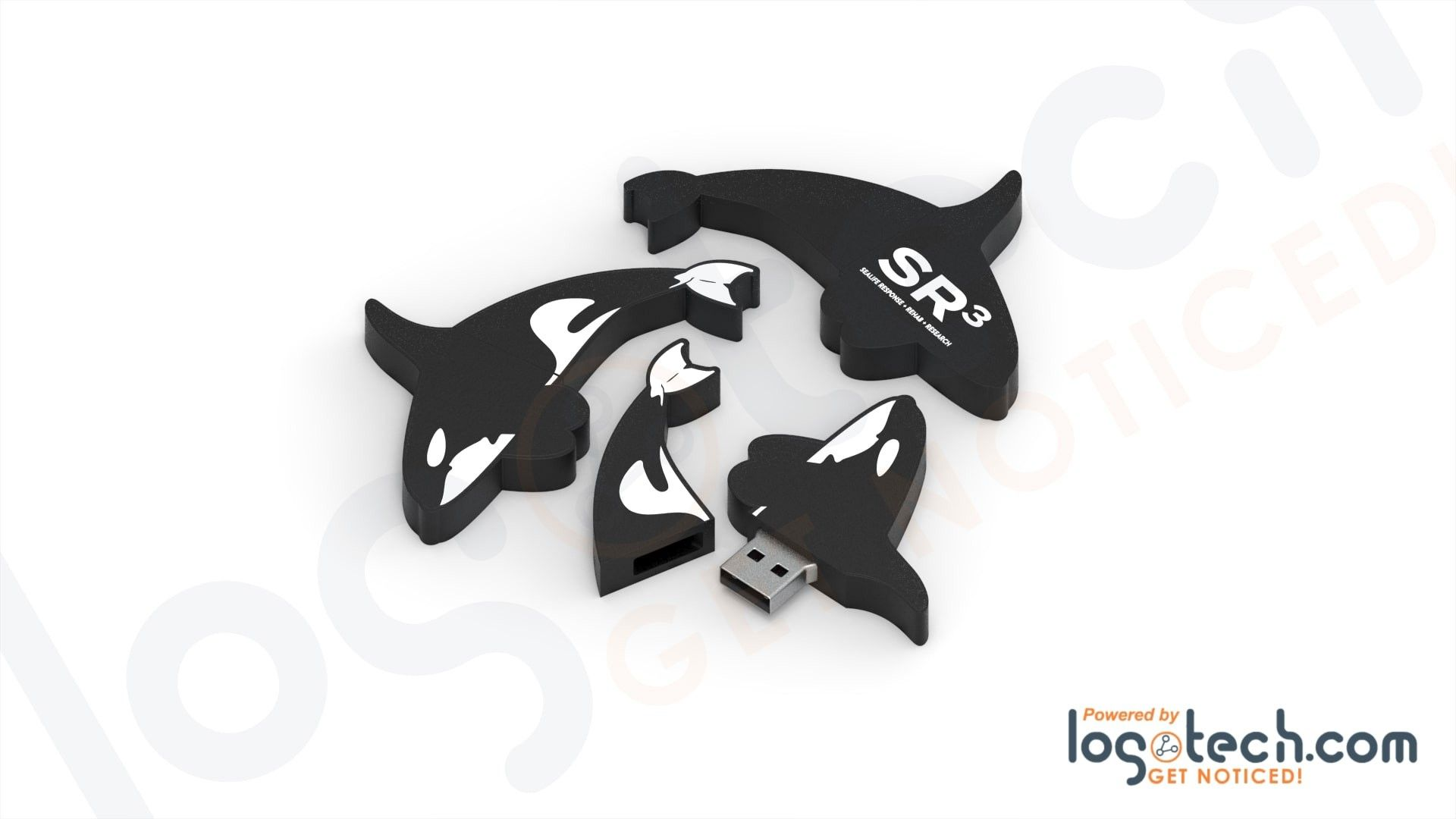Killer Whale USB Flash Drive