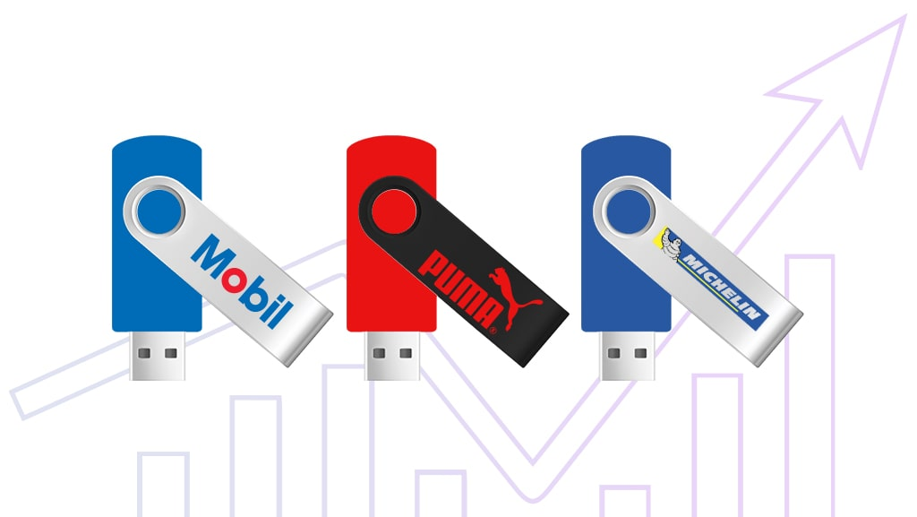 How to Drive Sales with Custom USB Drives