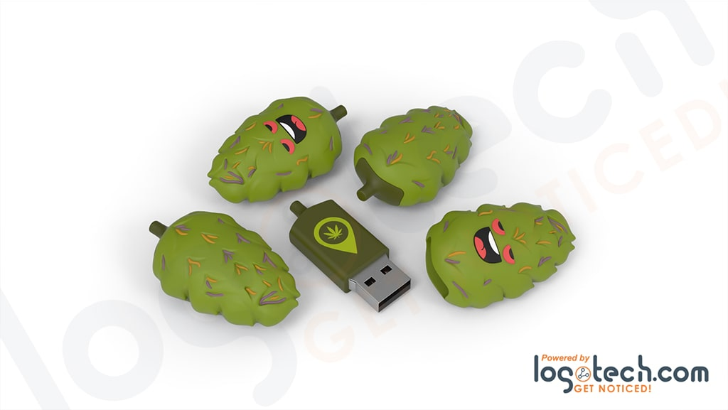 Marijuana Weed Bud USB Flash Drive