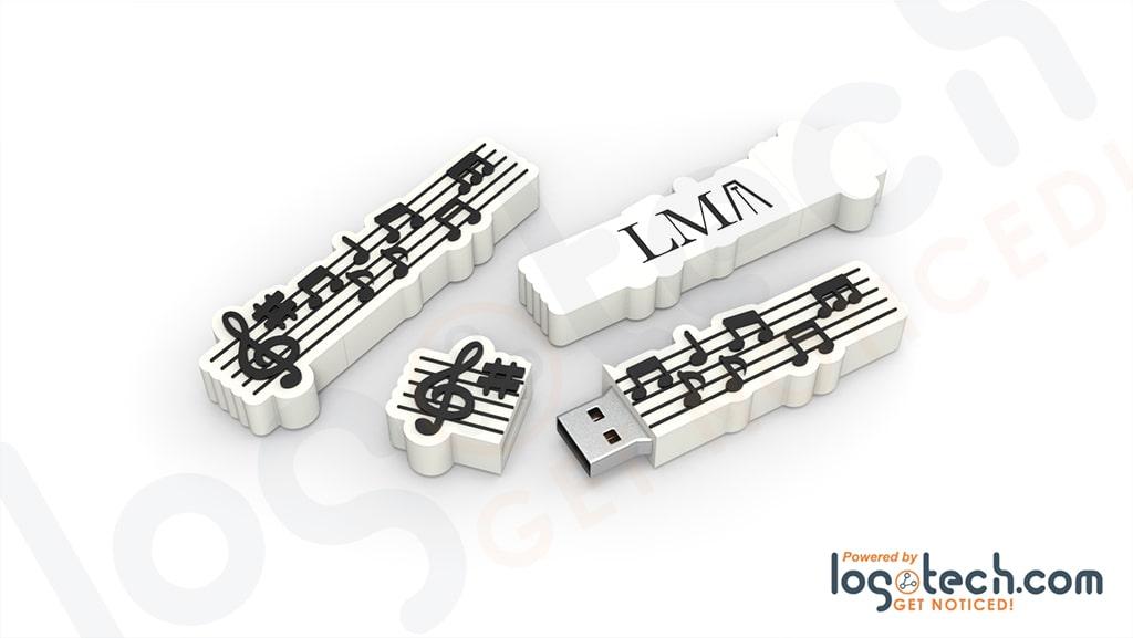 Music Staff USB Flash Drive