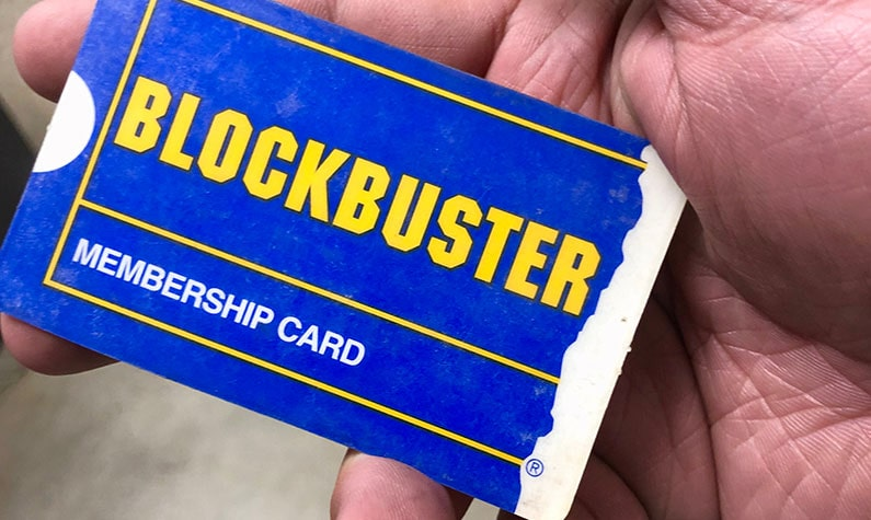 Blockbuster Membership Card