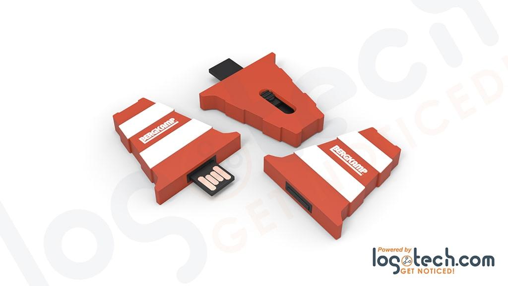 Slider 2D Custom Flash Drive