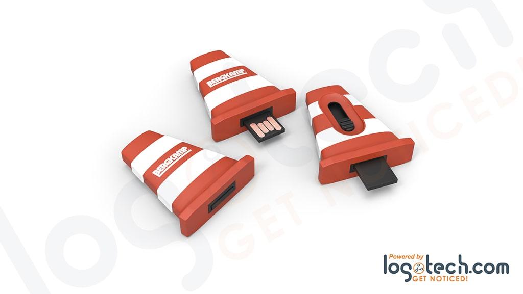 Custom 3D Slider USB Flash Drive